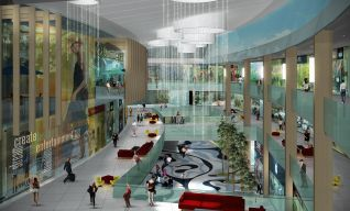 Inside Uptown Place