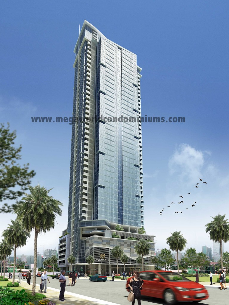 Uptown Ritz facade fort bonifacio global city