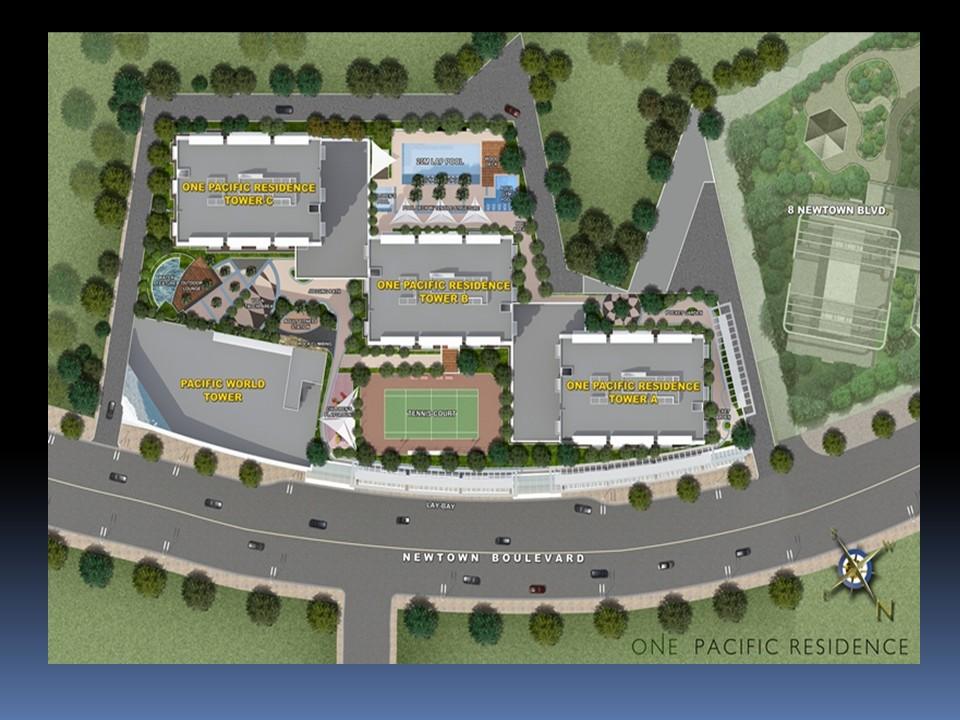 Site Development plan One pacific 5