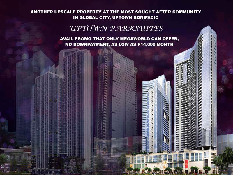 Uptown Parksuites Promo