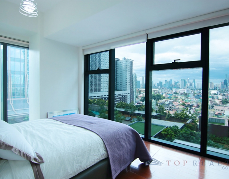 Corner Two Bedroom Unit for Sale at Grand Hyatt Residences in 8th Avenue corner, 35th St, Taguig I Unit with Amenity View