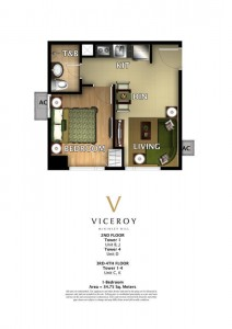 VICEROY One Bedroom 34.75 sqm