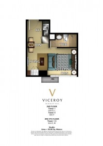 VICEROY STUDIO 26 sqm