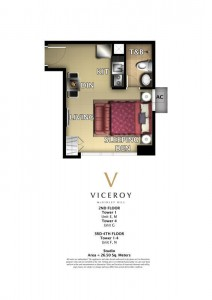 VICEROY STUDIO 26.5 sqm