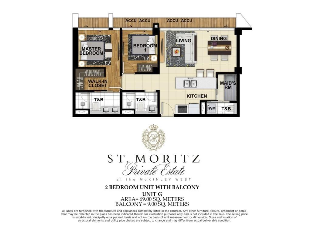 Saint Moritz 2BR