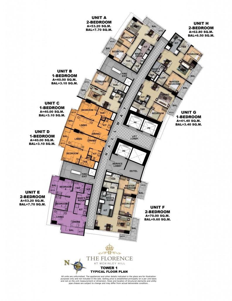Florence mckinley Floor plan