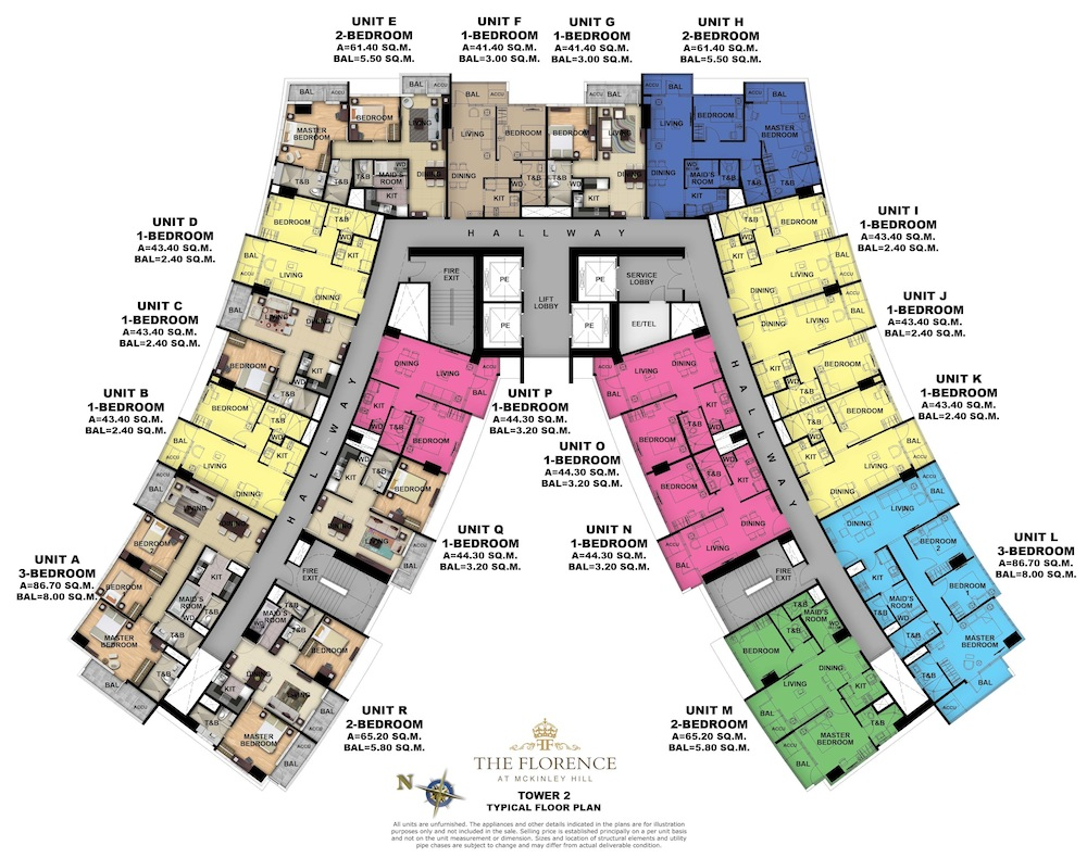 Florence Mckinley Floor plan Tower 2