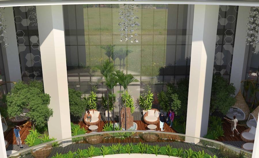 Uptown Parksuites  sky garden