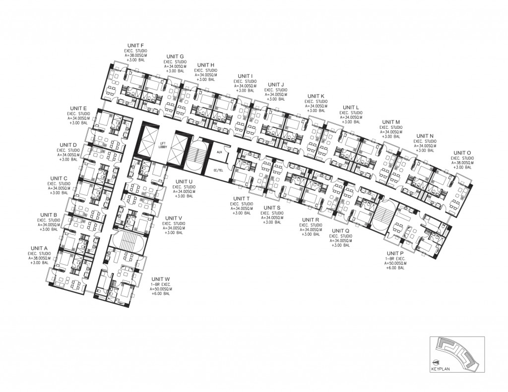 South Beach District - Typical Floor Plan