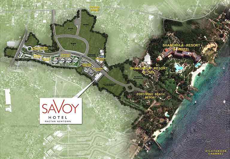 Savoy Map
